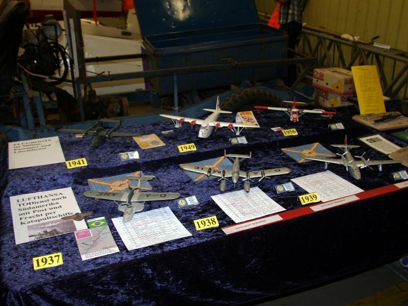 Eine schöne Sammlung an Wasserflugzeugen.