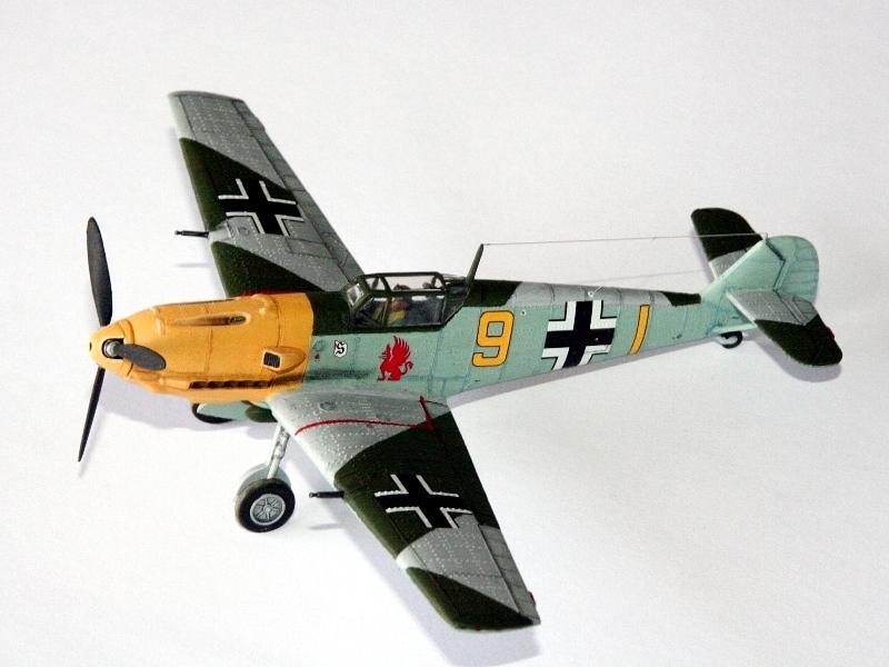 Fertig! Diese Airfix-109 entstand mit einfachen Mitteln.