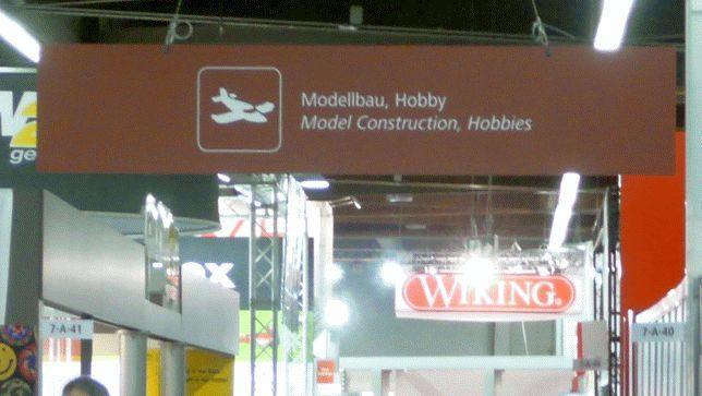 Eingang zum Modellbaubereich