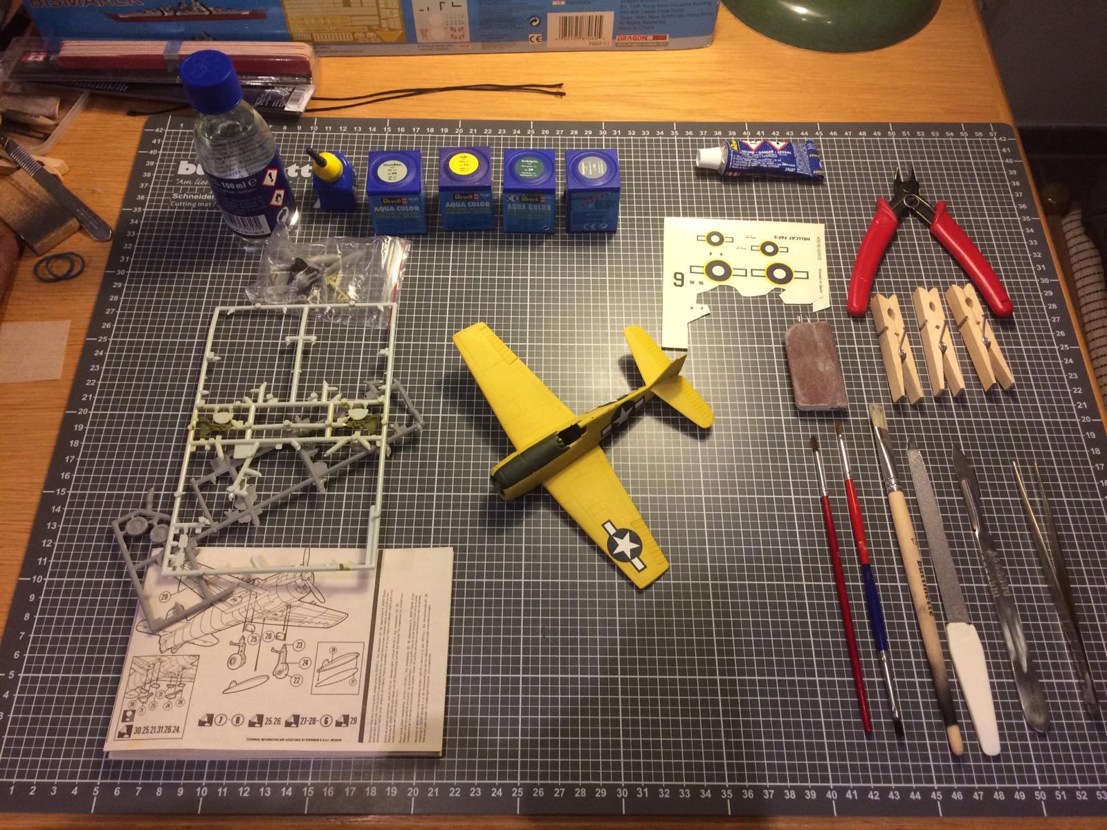 Flugzeug im Bau